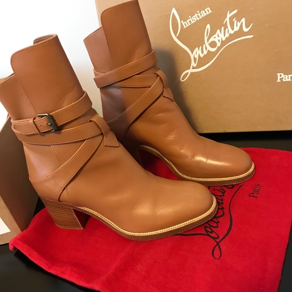 a7de4666f41 Christian Louboutin Karistrap Leather Boot